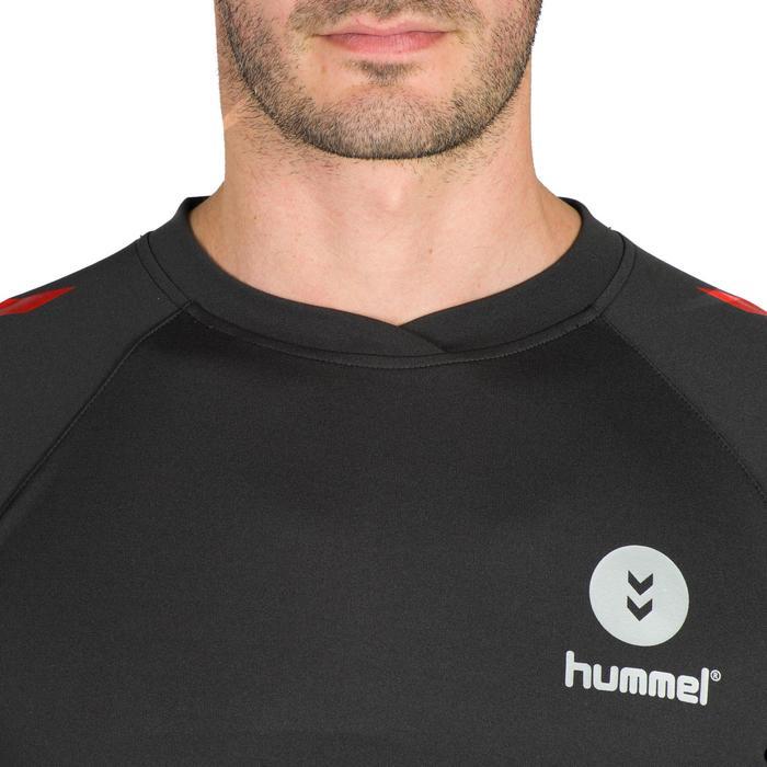 Maillot de Handball adulte Hummel de couleur gris et rouge - 1321161