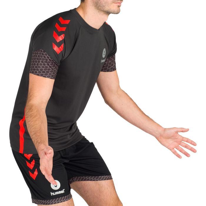 Maillot de Handball adulte Hummel de couleur gris et rouge - 1321162