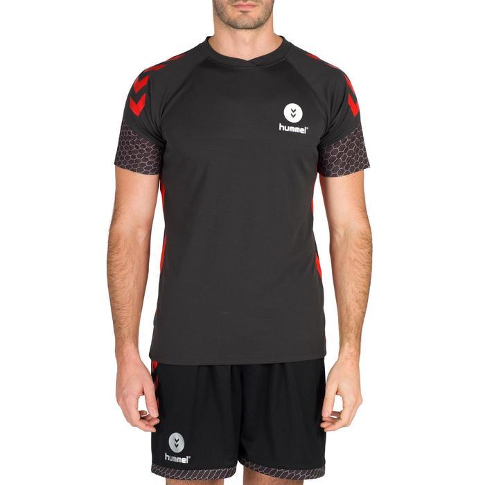Maillot de Handball adulte Hummel de couleur gris et rouge - 1321163