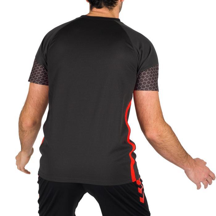 Maillot de Handball adulte Hummel de couleur gris et rouge - 1321165