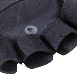 Handschoenen - krachttraining - spiertraining - Grip pad Training zwart