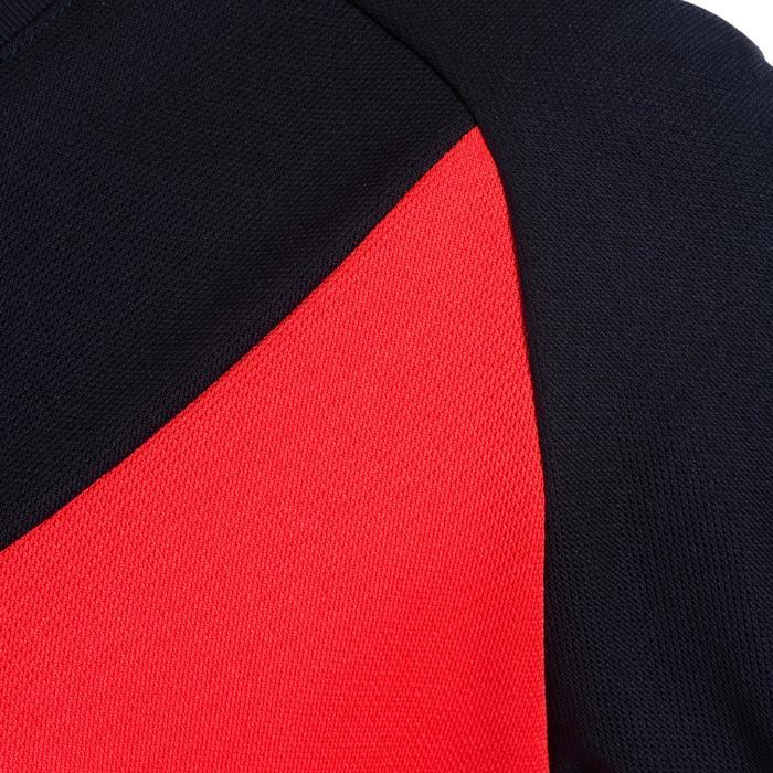 Camiseta de hockey sobre hierba niña FH100 azul y rosa