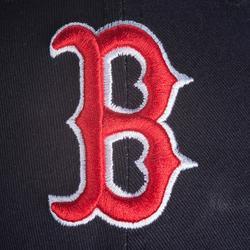 Baseballpet 9 Forty Boston RedSox volwassenen blauw