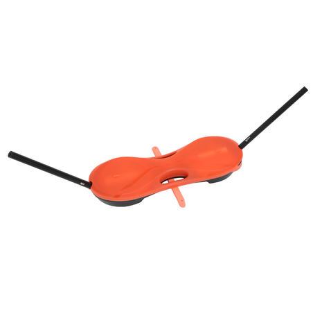 Set Mudah 3 m Set Net dan Raket - Oranye