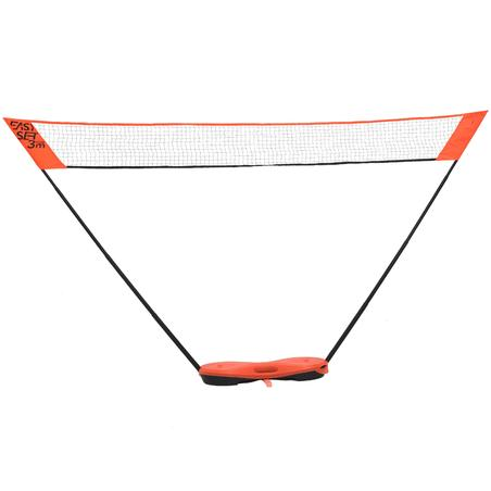 Easy Set 3 m Net and Racquet Set - Orange