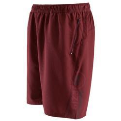 有氧健身短褲FST120-黑色