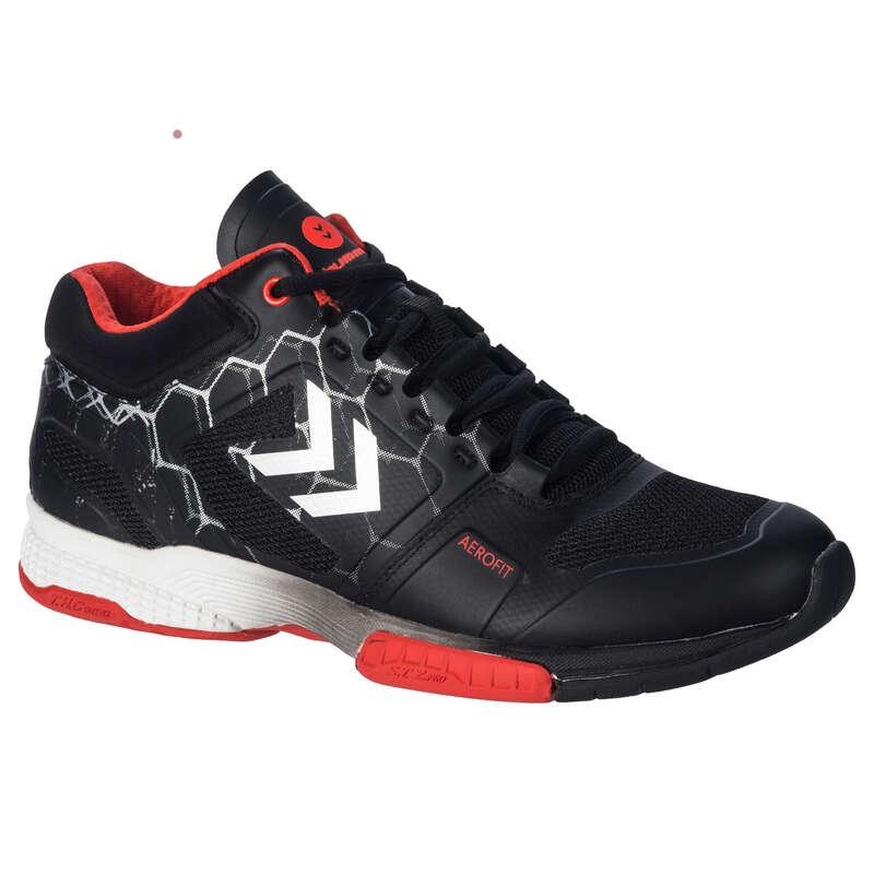 APPAREL SHOES MEN HANDBALL Handball - HB220 - Black/Red HUMMEL - Handball