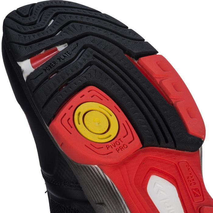 Chaussures de handball adulte HB220 aerocharge noir / rouge