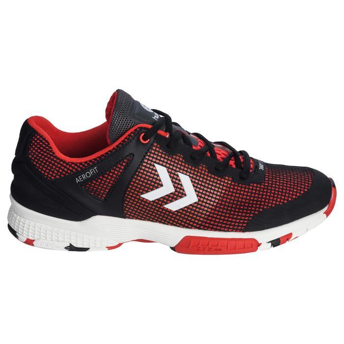 Chaussures de Handball HB180 adulte de couleur noir et rouge. - 1321742