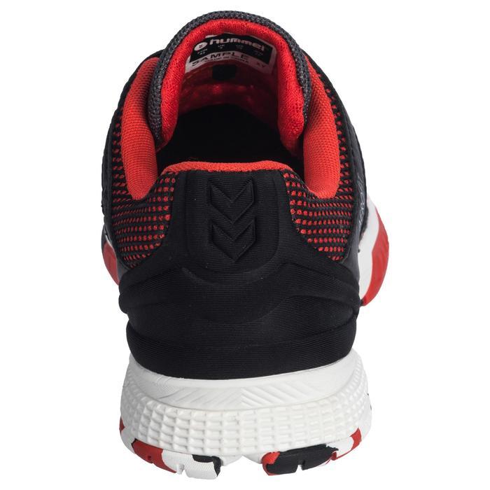 Chaussures de Handball HB180 adulte de couleur noir et rouge. - 1321744