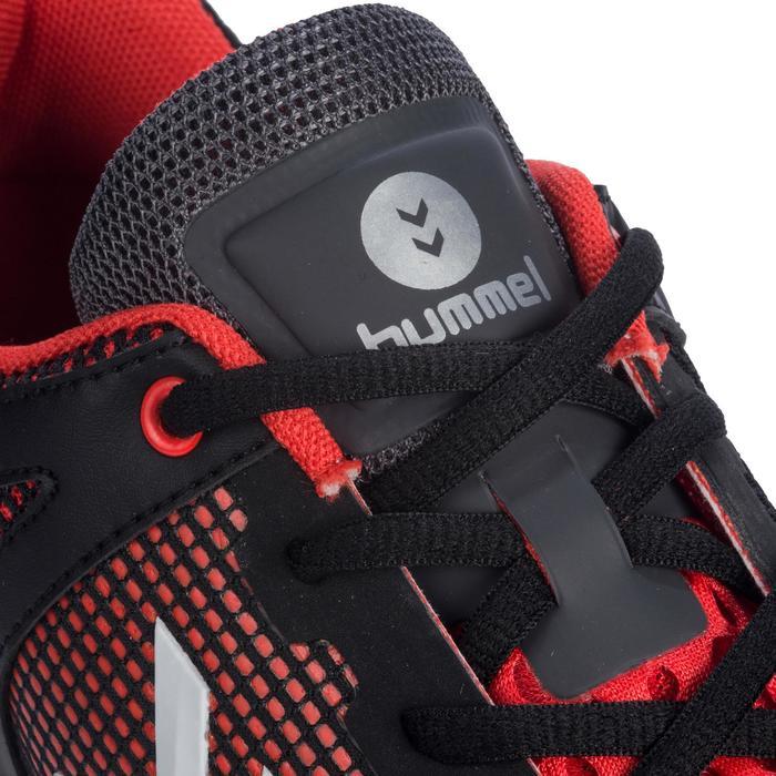 Chaussures de Handball HB180 adulte de couleur noir et rouge. - 1321750