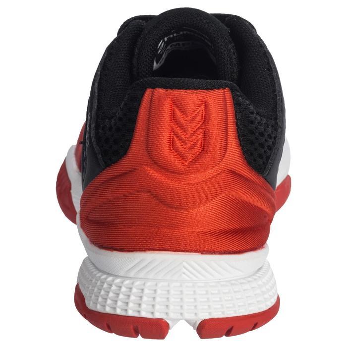 Handbalschoenen voor kinderen HB200 zwart en rood