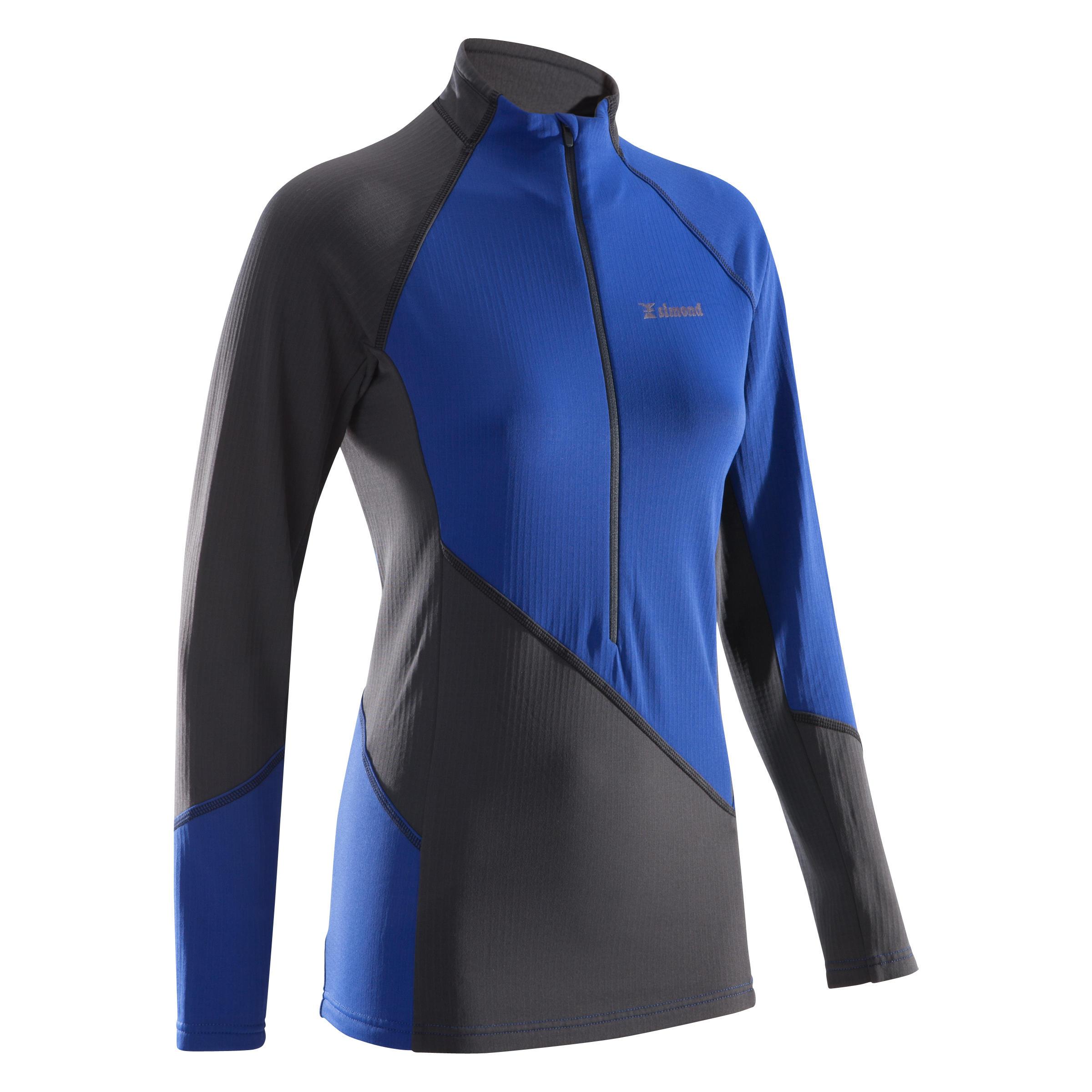 Simond Sweater 1/2 rits dames Alpinism