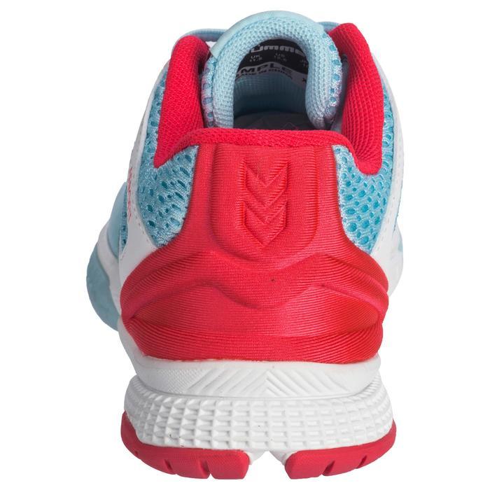 Chaussures de Handball HB200 junior de couleur bleu et rose - 1321794