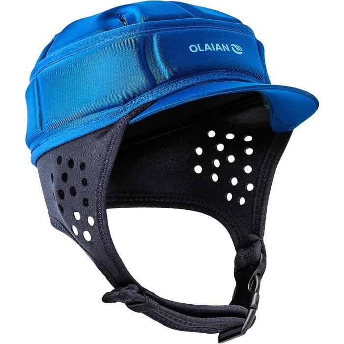Casque pour la pratique du surf  , soft ,bleue - 1321812
