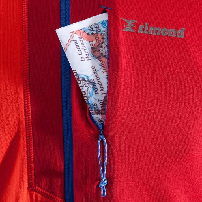 Klettershirt Sweat Alpinism 1/2 Zip Herren rot/zinnoberrot
