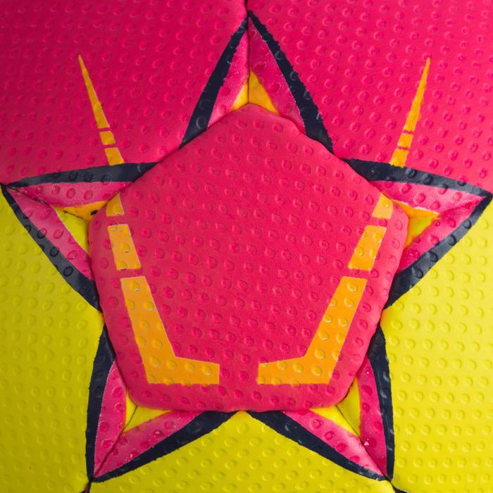 Ballon de handball Select SOLERA de couleur Rose et jaune taille 2 - 1321884