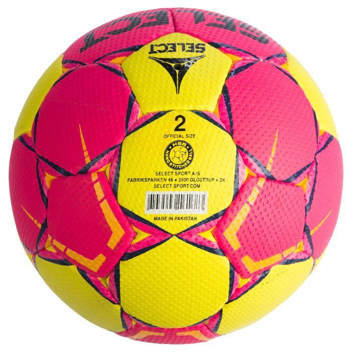 Ballon de handball Select SOLERA de couleur Rose et jaune taille 2 - 1321885