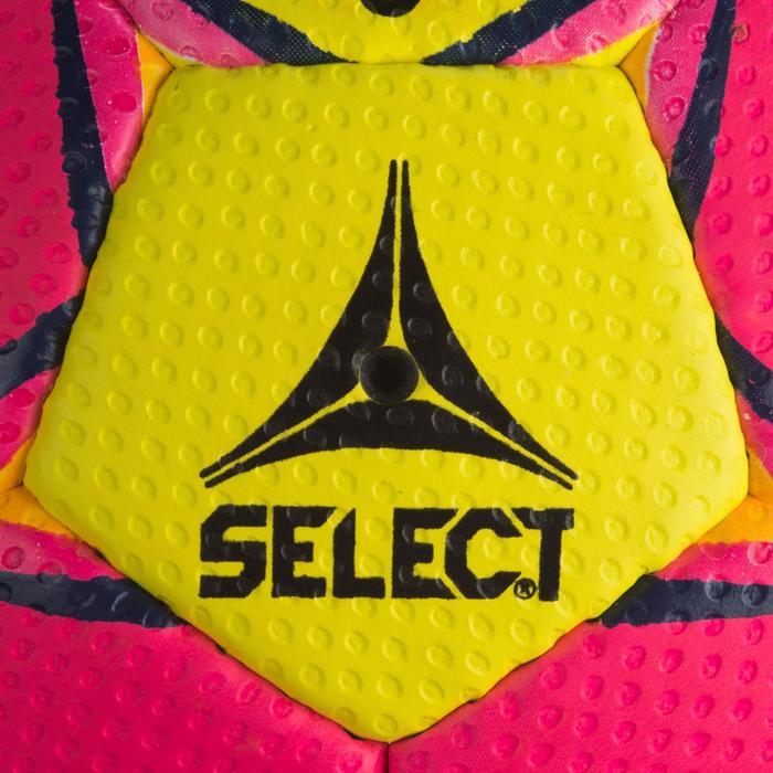 Ballon de handball Select SOLERA de couleur Rose et jaune taille 2 - 1321887
