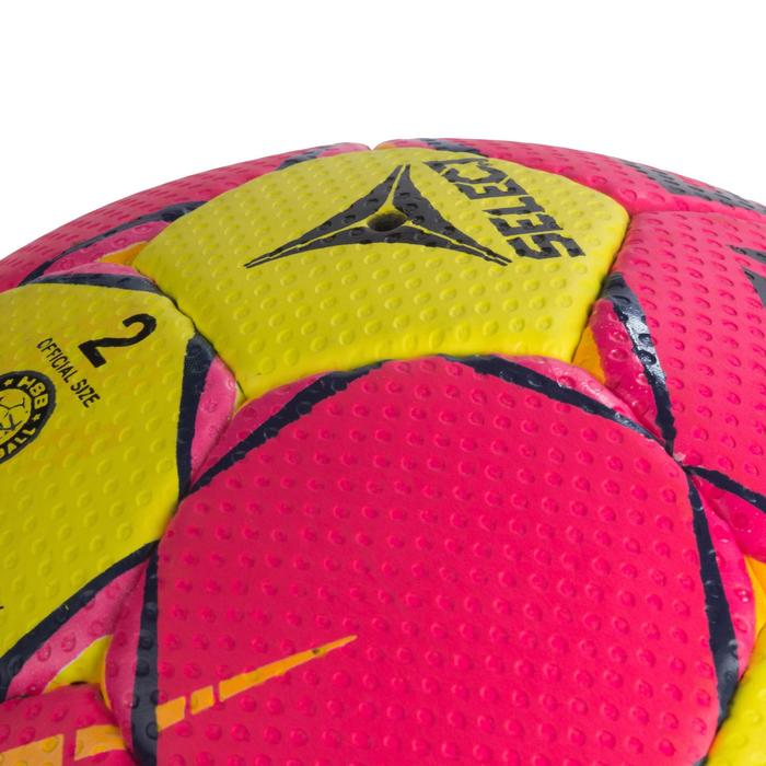 Ballon de handball Select SOLERA de couleur Rose et jaune taille 2 - 1321889