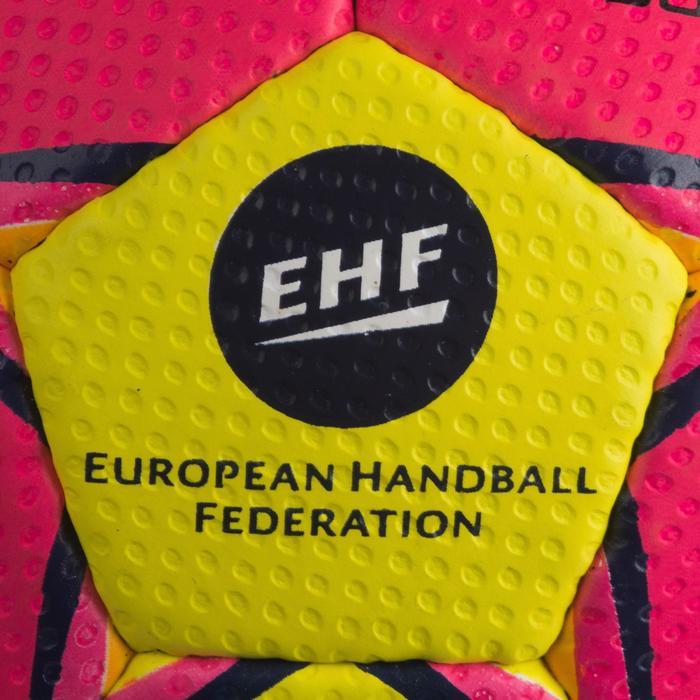 Ballon de handball Select SOLERA de couleur Rose et jaune taille 2 - 1321890