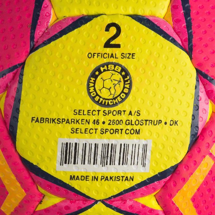 Ballon de handball Select SOLERA de couleur Rose et jaune taille 2 - 1321891