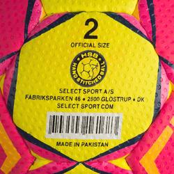 Handbal voor volwassenen Solera M2 roze / geel