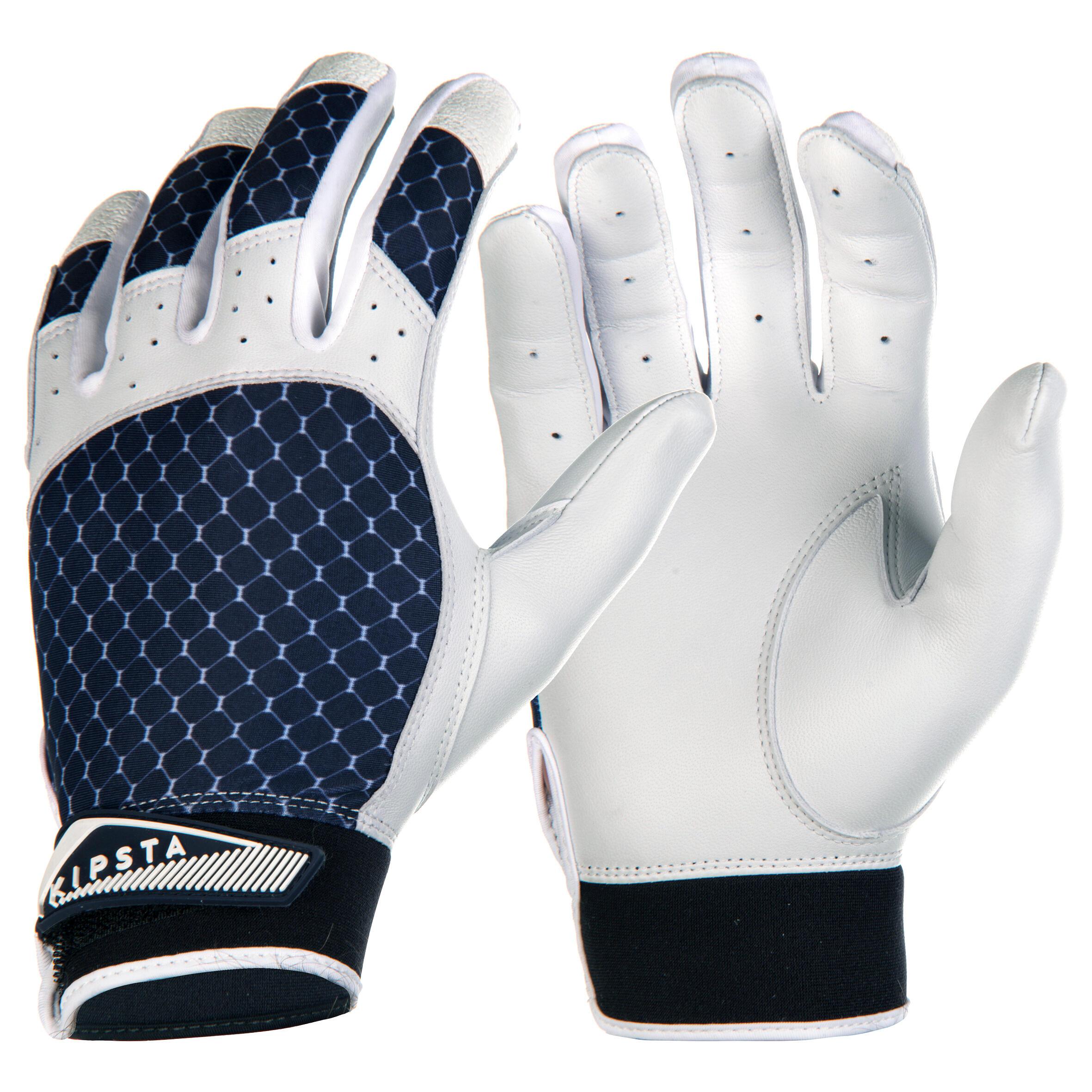 Kipsta Slaghandschoenen voor baseball BA 550 blauw