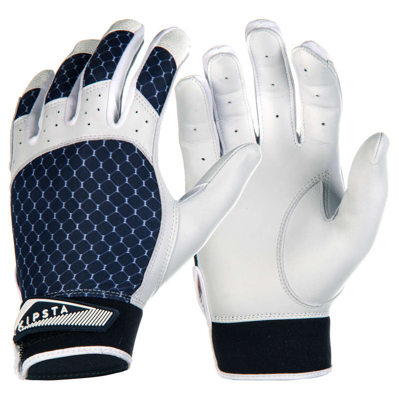 BASEBALL EQUIPMENT Baseball - BA 550 Batting Gloves - Blue KIPSTA - Baseball