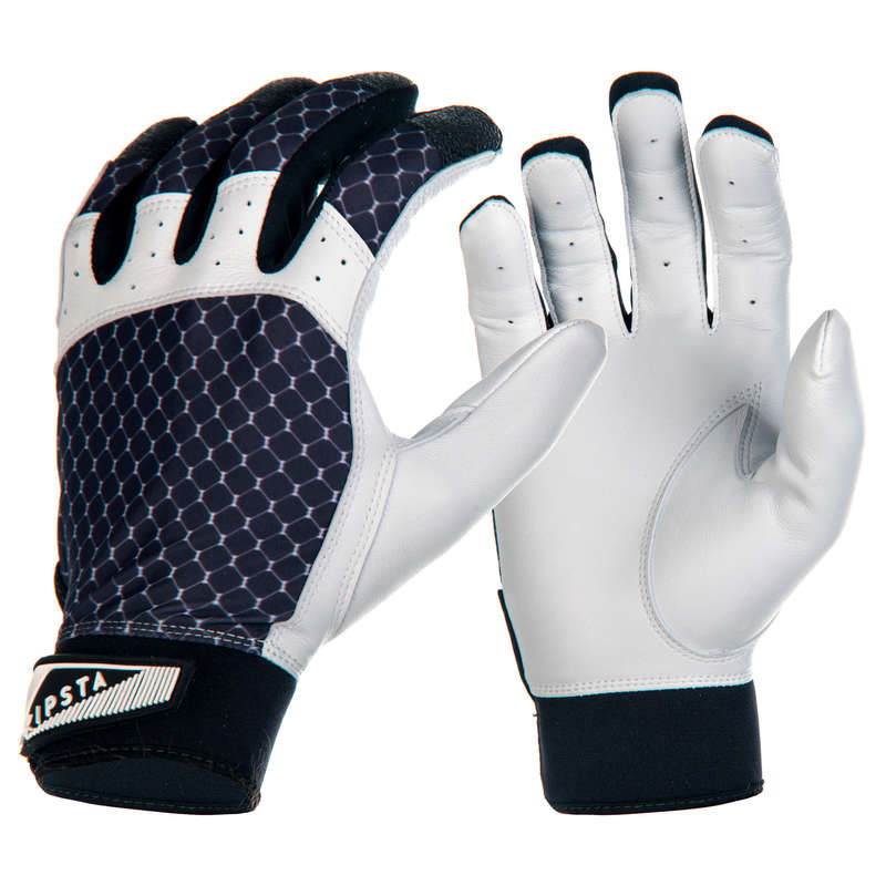 BASEBALL EQUIPMENT Baseball - BA 550 Batting Gloves - Black KIPSTA - Baseball