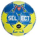 PIŁKA RĘCZNA Siatkówka, piłka ręczna, baseball, hokej - Piłka Maxi Grip rozm.3 żół-nie SELECT - Sporty drużynowe