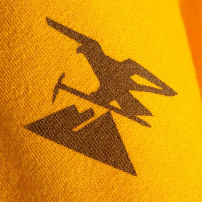 Kletter-T-Shirt kurzarm Komfort Herren goldgelb
