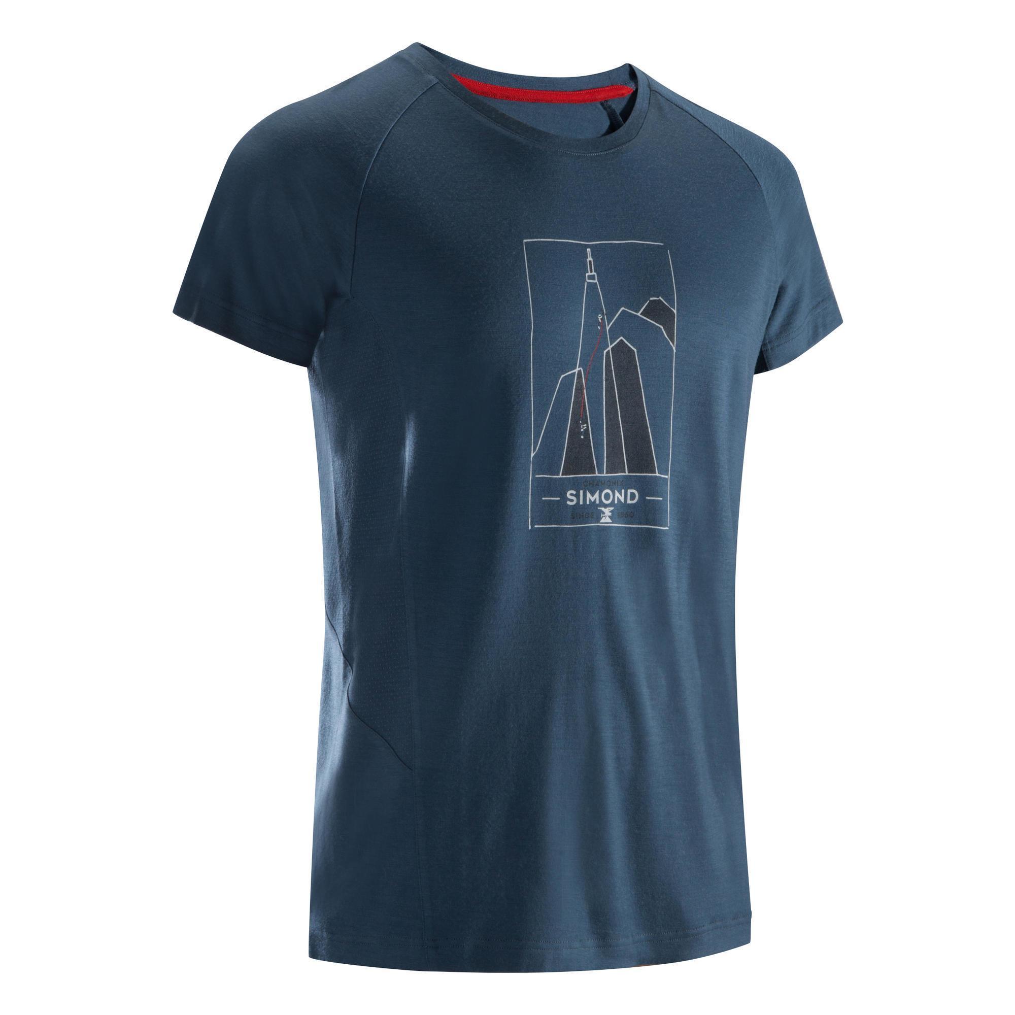 Simond Heren T-shirt voor klimmen CHX