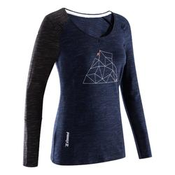 Klettershirt Ladies Place Langarm dunkelindigo