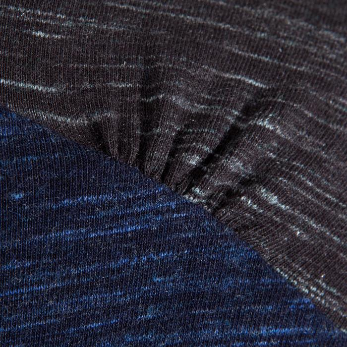 Damesshirt met lange mouwen Ladies Place donker indigo