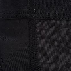 Elleboogbeschermer voor handbal H500 zwart/geel