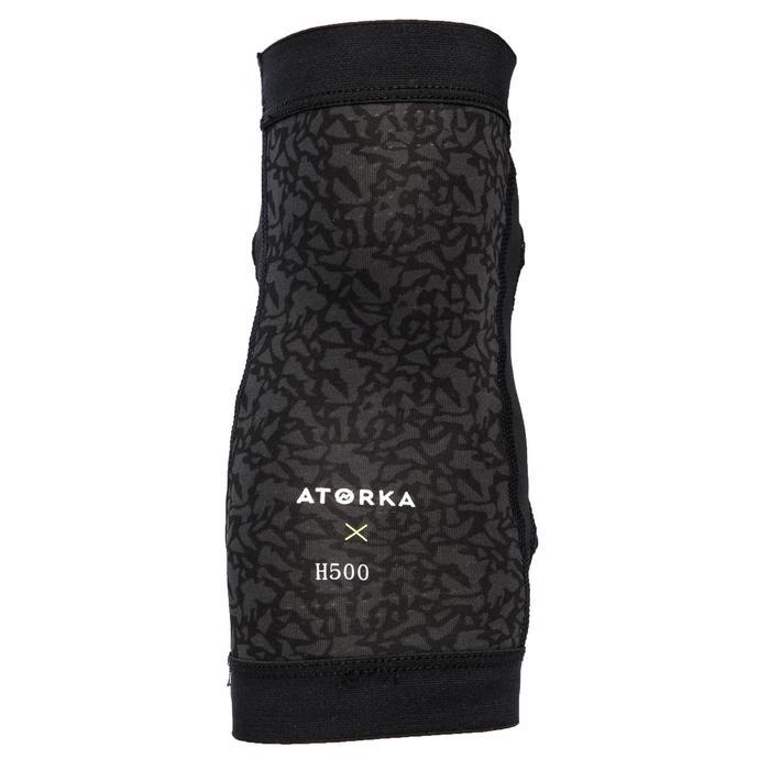 Elleboogbeschermer voor handbal H500 zwart