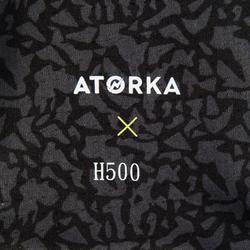 Knieschoner Handball H500 schwarz 1x Stück