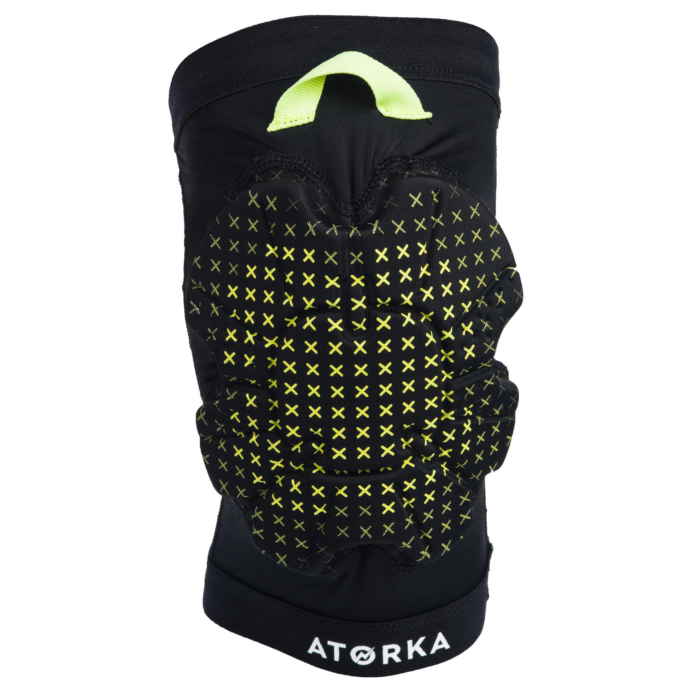 Atorka Kniebeschermer voor handbal H500 zwart