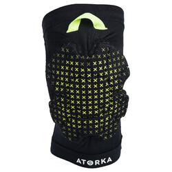 Kniebeschermer voor handbal H500 zwart