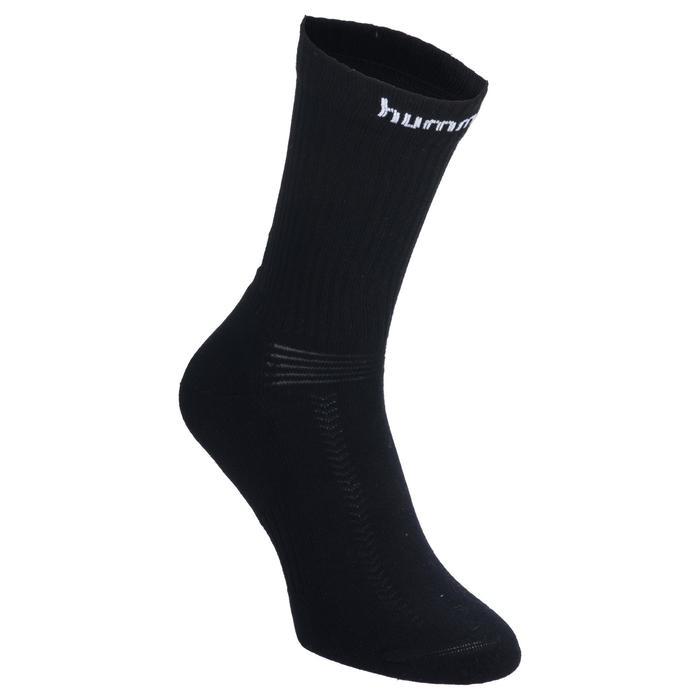 Lote de 2 pares de calcetines Hummel colores Blanco y Negro
