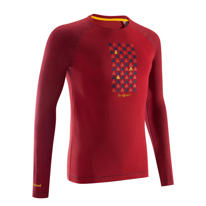 Be Different Men's Long Sleeve T-Shirt - Red