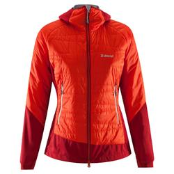 Veste d'isolation active HYBRID FEMME Rouge