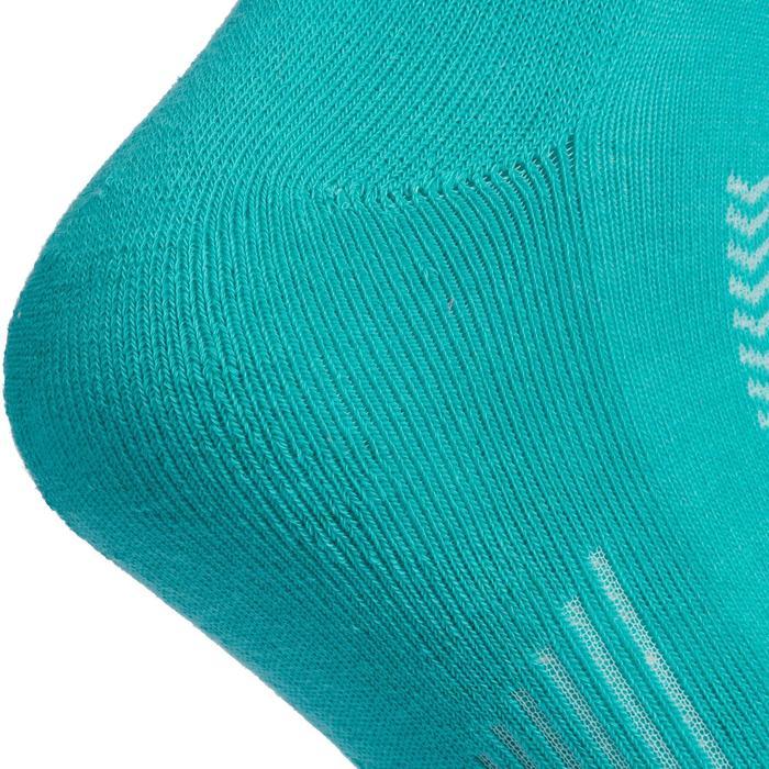 Chaussettes de Handball Hummel de couleur Menthol et Blanche. - 1322121