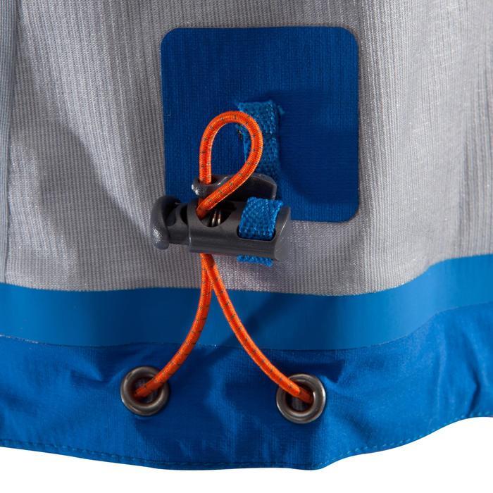 Bergsteigerjacke Alpinisme Ultralight elektroblau