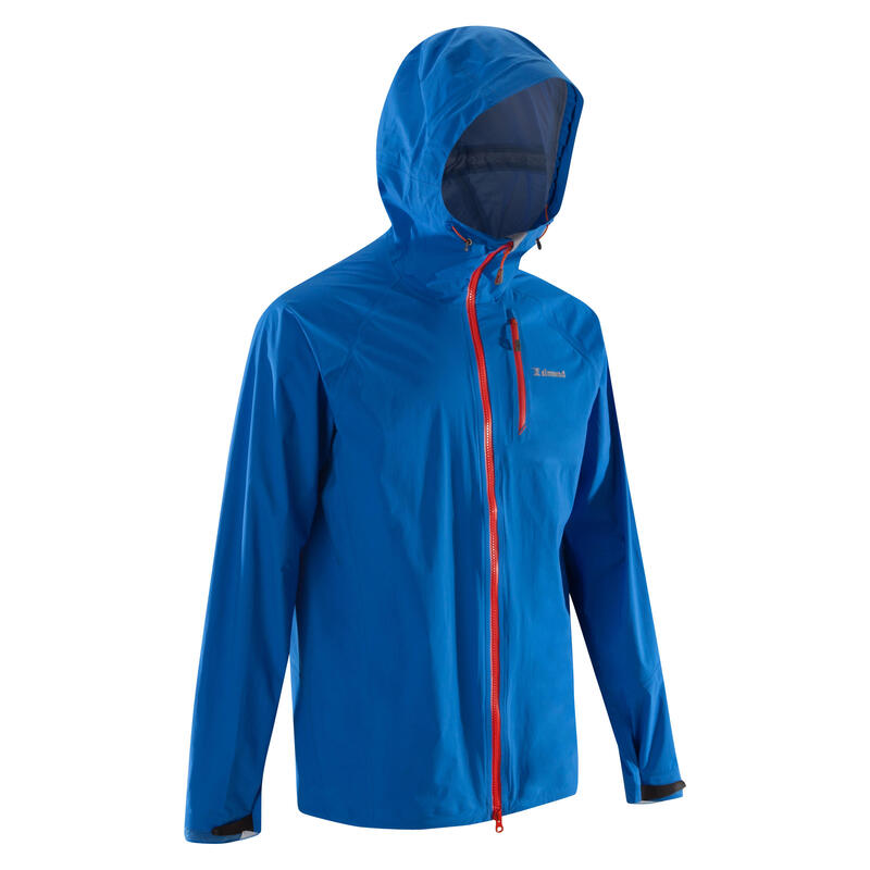 Veste imperméable d'alpinisme - ALPINISM ULTRA-LIGHT Bleu