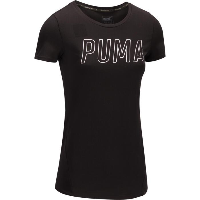 T-shirt PUMA Gym & Pilates femme noir - 1322204