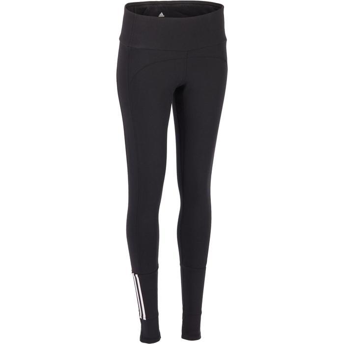 Legging Adidas Gym & Pilates femme coton technique - 1322206