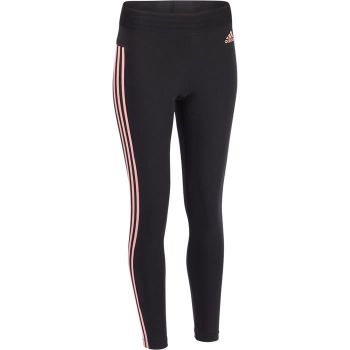 Legging Adidas Gym & Pilates femme coton 3 bandes - 1322213