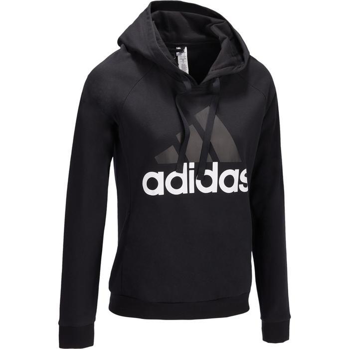 Sweat Adidas Gym & Pilates capuche logo femme - 1322217